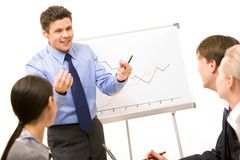 Teacher at work Royalty Free Stock Photography
