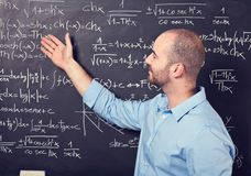Teacher at work Stock Photography