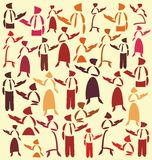 Teachers royalty free illustration