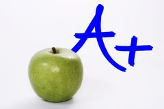 Teachers Apple Royalty Free Stock Photography