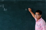 Teachers in the classroom Stock Photography
