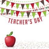 Teachers Day background EPS 10 vector Stock Photo
