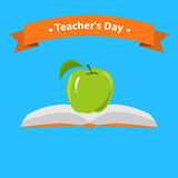 Teachers day card Royalty Free Stock Images