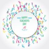 Teachers Day Holidays Royalty Free Stock Image