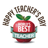 Teachers Day icon EPS 10 vector Stock Photos