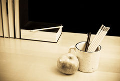 Teachers Desk Royalty Free Stock Image
