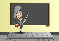 Teachers to teach. In front of the class Royalty Free Stock Photos