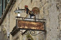 Teaches rotisserie, Tarquinia Royalty Free Stock Images