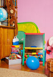 Teaching Board In Kids Room Royalty Free Stock Photos