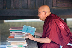 Teaching Buddhism Royalty Free Stock Images