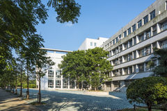 The teaching building royalty free stock image