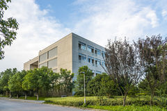 The teaching building. This photo was taken in Xianlin campus,Nanjing forest police college,Nanjing city,china.Photo taken on:Jul 31th,2015 Royalty Free Stock Photos