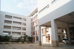 Teaching Building. School buildings in Shenzhen, China Stock Photos
