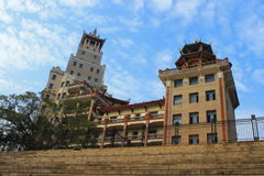 Teaching Building of Xiamen jimei xuecun Royalty Free Stock Photos