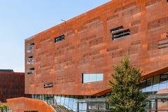 Teaching Center of Vienna University of Economics and Business Stock Image