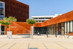Teaching Center of Vienna University of Economics and Business Royalty Free Stock Photography