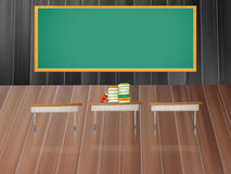 Teaching in the classroom Royalty Free Stock Image
