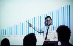 Teaching economics Stock Photo
