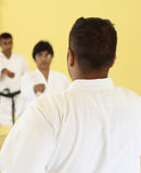 Teaching karate Stock Images