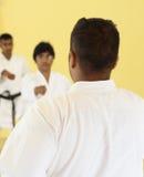 Teaching karate Stock Images