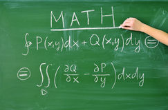 Teaching math Stock Images