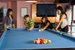 Teaching pool Royalty Free Stock Photo