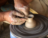 Teaching pottery Stock Images