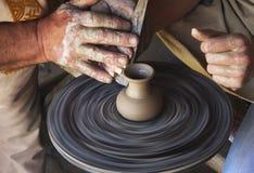 Teaching pottery Stock Image