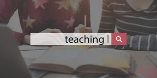 Teaching Training Coaching Education Concept Royalty Free Stock Image