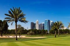 Teacom es un área desarrollada recientemente de Dubai, UAE imagen de archivo libre de regalías