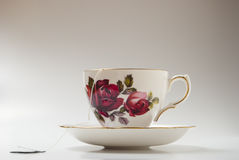 Teacup With Bag Stock Images