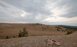 Free Teacup Canyon / Bowl On Sykes Ridge In The Pryor Mountains On The Wyoming Montana State Line - USA Royalty Free Stock Photos - 106424678