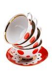 Teacup close up Royalty Free Stock Photos