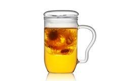 Teacup de vidro Foto de Stock Royalty Free