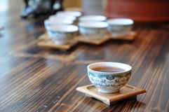 TEACUP WITH HERBAL TEA stock photos
