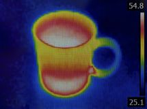 Teacup Infrared Image Stock Image