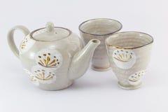 teacup odosobniony teapot Zdjęcie Royalty Free
