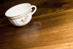 Free Teacup On Table Stock Image - 7327731
