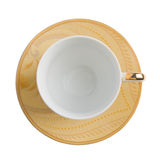 Teacup with saucer Royalty Free Stock Photos