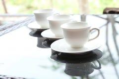 Teacup set Stock Images