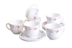 Teacup. teacup set on a background. teacup. teacup set on a back Royalty Free Stock Image