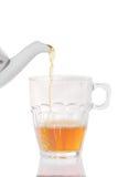 Teacup and teapot Stock Photography