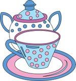 Teacup Teapot Drink Stock Image