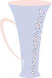 Teacup Vector. Teacup in simple vector design Royalty Free Stock Images