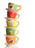 Teacups Imagem de Stock Royalty Free