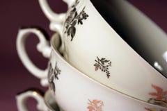 Teacups Imagem de Stock Royalty Free