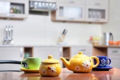 Teacups Foto de Stock