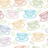 teacups Foto de archivo libre de regalías