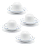 Teacups and Saucers Stock Photos