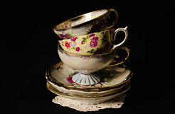 Teacups. Taken in the studio with soft boxes Royalty Free Stock Photos